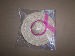 Straw Hat fits Rini and Cindy. Limited Quantity Available