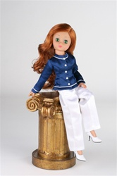 Business Savvy Outfit (doll, shoes and pedestal not included).
