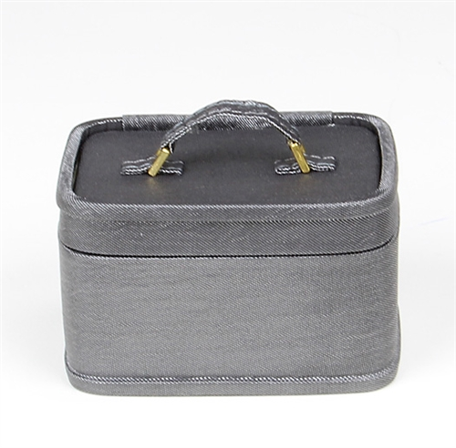 RETRO TRAIN CASE - GRAY