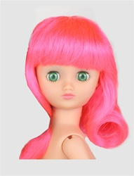 Wig - Rini - Sockhop Shoulder Length - Pink