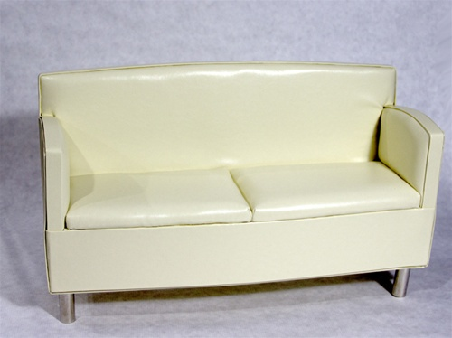 "Sofa - Cream (Perfectly scaled for 20"" to 22"" BJD)"