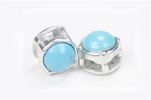 MICRO LINX - PEARL TURQUOISE / SILVER BEZEL