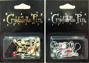 CRYSTALETTS STITCH MARKER PINS