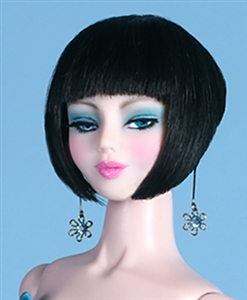 Black Wig - Vita - Elegance (Doll not included)
