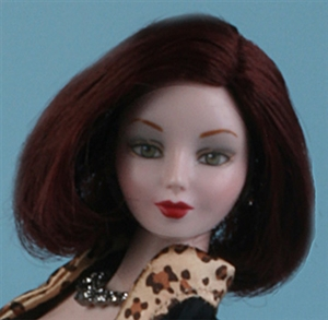 Brown Wig - Vita - Manhattan Safari (Doll not included)