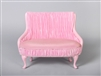 "PRINCESS LOVESEAT- PINK (Perfectly scaled for Vita and most 16"" Fashion Dolls)"