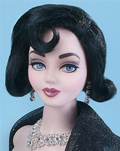 Black Wig - Vita - Le Gant Noir (Doll not included)